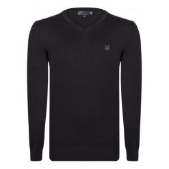 Giorgio Di Mare Sweter Męski Xxl Czarny. Czarne swetry klasyczne męskie marki Giorgio di Mare, m, z bawełny. W wyprzedaży za 169,00 zł.