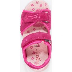 Superfit NELLY Sandały berry. Fioletowe sandały chłopięce marki Superfit, z materiału. Za 229,00 zł.