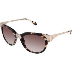 """Okulary przeciwsłoneczne damskie: Okulary przeciwsłoneczne """"BL208203"""" w kolorze złoto-brązowym"""