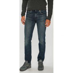 Levi's - Jeansy 511. Brązowe jeansy męskie slim Levi's®, z aplikacjami, z bawełny. Za 329,90 zł.