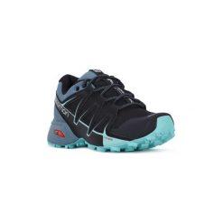 Buty do biegania Salomon  SPEEDCROSS VARIO 2 W. Szare buty do biegania damskie marki Salomon, z gore-texu, na sznurówki, gore-tex. Za 426,53 zł.