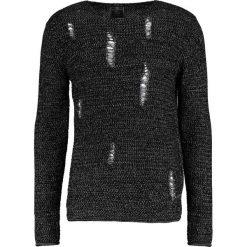 Swetry klasyczne męskie: Key Largo PIETRO Sweter black