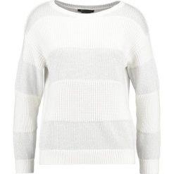 Odzież damska: Armani Exchange Sweter white / silver