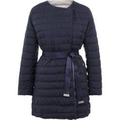 Płaszcze damskie pastelowe: WEEKEND MaxMara ABAVO  Płaszcz puchowy blu marino
