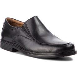 Półbuty CLARKS - Un Aldric Walk 261373517 Black Leather. Czarne derby męskie Clarks, ze skóry. Za 459,00 zł.