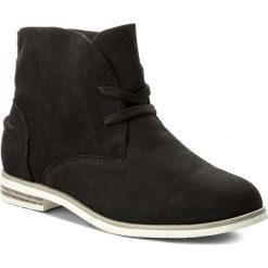 Botki JENNY FAIRY - WS1275-12A Czarny. Czarne buty zimowe damskie Jenny Fairy, z materiału. W wyprzedaży za 79,99 zł.