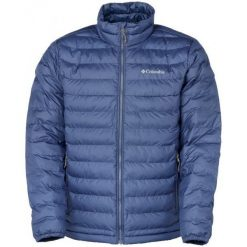 Columbia Kurtka Męska Powder Lite Jacket Collegiate Navy S. Niebieskie kurtki sportowe męskie Columbia, na zimę, m, z materiału, omni-heat (columbia). W wyprzedaży za 289,00 zł.