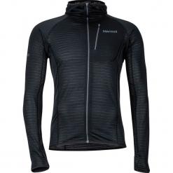 """Kurtka polarowa """"Neothermo"""" w kolorze czarnym. Czarne kurtki męskie marki Marmot, m, z polaru. W wyprzedaży za 363,95 zł."""