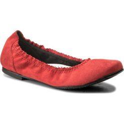 Baleriny SERGIO BARDI - Arienzo SS127324918JN 208. Czerwone baleriny damskie Sergio Bardi, z materiału. W wyprzedaży za 169,00 zł.