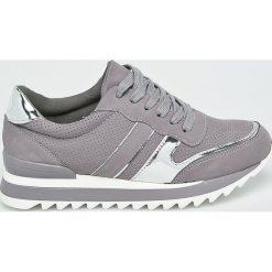 Answear - Buty Super Women. Szare buty sportowe damskie marki ANSWEAR, z gumy. W wyprzedaży za 79,90 zł.