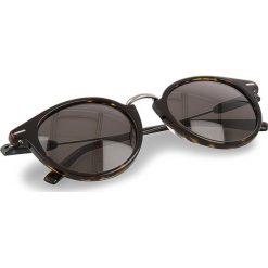 Okulary przeciwsłoneczne BOSS - 0326/S Dark Havana 086. Brązowe okulary przeciwsłoneczne damskie lenonki marki Boss. W wyprzedaży za 459,00 zł.