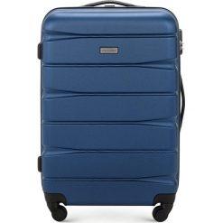 Walizka średnia 56-3A-362-90. Niebieskie walizki marki Wittchen, średnie. Za 199,00 zł.