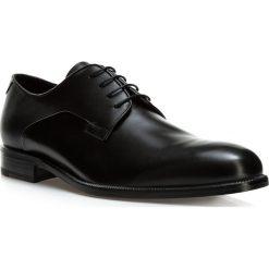 Buty męskie BM-B-579-1. Czarne buty wizytowe męskie marki Wittchen, z materiału. Za 899,00 zł.