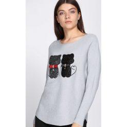Jasnoszary Sweter See Us. Szare swetry oversize damskie Born2be, l. Za 89,99 zł.
