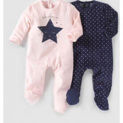 Odzież dziecięca: Komplet 2 Piżam welurowych 0 miesięcy-3 lata