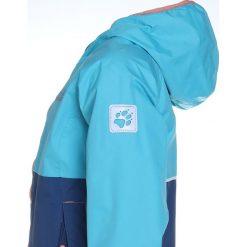 Jack Wolfskin RAINY DAYS Kurtka hardshell lake blue. Niebieskie kurtki chłopięce marki Jack Wolfskin, z hardshellu, outdoorowe. W wyprzedaży za 356,15 zł.