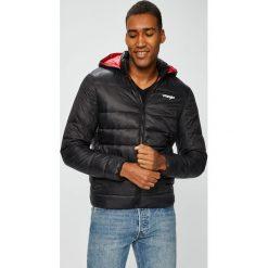 Wrangler - Kurtka. Czarne kurtki męskie pikowane marki Wrangler, l, z materiału. Za 439,90 zł.