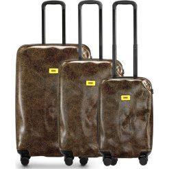 Walizki Surface w zestawie 3 el. Brown Fur. Szare walizki marki Crash Baggage, z materiału. Za 2712,00 zł.