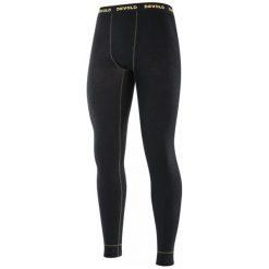 Devold Kalesony Wool Mesh Man Long Johns Black M. Czarne odzież termoaktywna męska Devold, l, z meshu. W wyprzedaży za 209,00 zł.