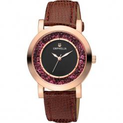 Zegarek kwarcowy w kolorze brązowo-czarno-złotym. Brązowe, analogowe zegarki damskie Esprit Watches, ze stali. W wyprzedaży za 181,95 zł.