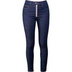 Current/Elliott ULTRA SKINNY Jeans Skinny Fit rinse. Niebieskie rurki damskie Current/Elliott, z bawełny. W wyprzedaży za 395,70 zł.