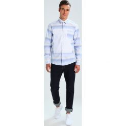 Koszule męskie na spinki: Soulland FISHBURNE Koszula blue