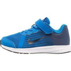 Nike Performance DOWNSHIFTER 8 PS BK Obuwie do biegania treningowe blue/dark obsidian/navy/white/black. Niebieskie buty do biegania damskie Nike Performance, z materiału. Za 169,00 zł.