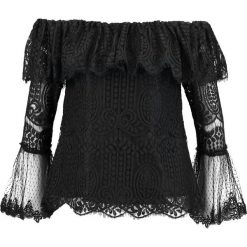 Bluzki asymetryczne: Navy London MYLA Bluzka black