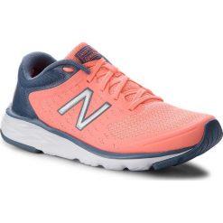 Buty sportowe damskie: Buty NEW BALANCE – W490CF5 Pomarańczowy