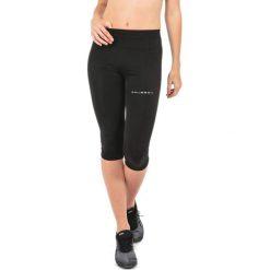 Bryczesy damskie: Brubeck Spodnie damskie 3/4 Running Force czarne r.L (SP10400)