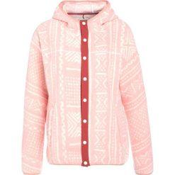 Burton HEARTH SNAP Kurtka z polaru rose quartz bambara. Czerwone kurtki sportowe damskie Burton, m, z materiału. W wyprzedaży za 367,20 zł.