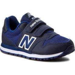 Trampki chłopięce: Sneakersy NEW BALANCE – KV500BBY Granatowy