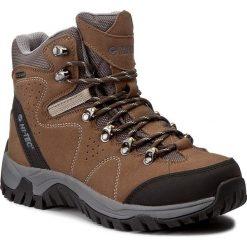 Buty trekkingowe damskie: Trekkingi HI-TEC - Salado Mid Wp Wo's AVSAW17-HT-01 Taupe/Black/Dark Grey