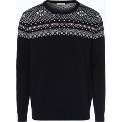 Selected - Sweter męski – Slchrist, niebieski. Niebieskie swetry klasyczne męskie marki bonprix, m, melanż. Za 229,95 zł.