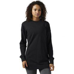 Bluza Reebok F French Terry Crewneck (BR7452). Czarne bluzy rozpinane damskie Reebok. Za 99,99 zł.