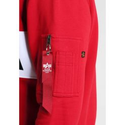 Bejsbolówki męskie: Alpha Industries NASA INLAY  Bluza speed red