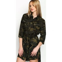 Sukienki: Zielona-Moro Sukienka Soldier Vibe