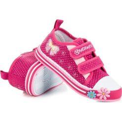 Trampki dla dziewczynki mckeylor McKeylor różowe. Niebieskie buty sportowe dziewczęce marki RAWEKS. Za 49,90 zł.