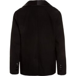 Benetton Marynarka black. Niebieskie kurtki dziewczęce marki Benetton, z bawełny. Za 259,00 zł.