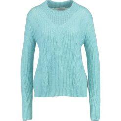 Swetry klasyczne damskie: Second Female EMILIE Sweter nile blue