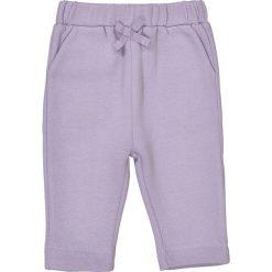 Spodnie dresowe - 0 miesięcy - 2 lata. Fioletowe spodnie dresowe dziewczęce La Redoute Collections, z bawełny. Za 26,42 zł.