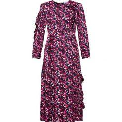MAX&Co. PADDA Długa sukienka rose pink. Czerwone długie sukienki marki MAX&Co., z materiału, wizytowe, z długim rękawem. W wyprzedaży za 619,50 zł.