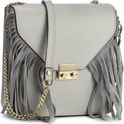 Torebka CREOLE - K10210 Ciemny Szary. Szare torebki klasyczne damskie Creole, ze skóry. W wyprzedaży za 169,00 zł.