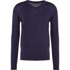 Swetry klasyczne męskie: J.LINDEBERG LYMANN Sweter anthracite melange