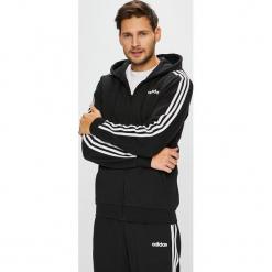 Adidas Performance - Bluza. Czarne bluzy męskie rozpinane adidas Performance, l, z bawełny, z kapturem. Za 249,90 zł.