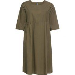 Sukienki hiszpanki: Sukienka bonprix zielony khaki
