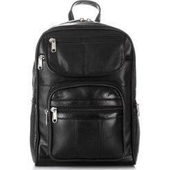 MODNY SKÓRZANY PLECAK DAMSKI RETRO ABRUZZO. Czarne plecaki damskie marki Abruzzo, ze skóry. Za 149,00 zł.