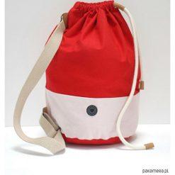 Torba Baggy Red. Czerwone torebki klasyczne damskie marki Pakamera, w kolorowe wzory, z bawełny, małe. Za 159,00 zł.