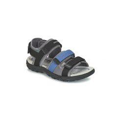 Sandały sportowe Dziecko  Geox  J S.STRADA A. Czarne buty sportowe chłopięce Geox. Za 181,30 zł.