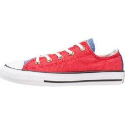 Converse CHUCK TAYLOR ALL STAR JUNIOR Tenisówki i Trampki enamel red/nightfall blue. Czerwone trampki chłopięce Converse, z materiału. Za 189,00 zł.